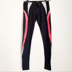 LJ BLACK pink grey black legging